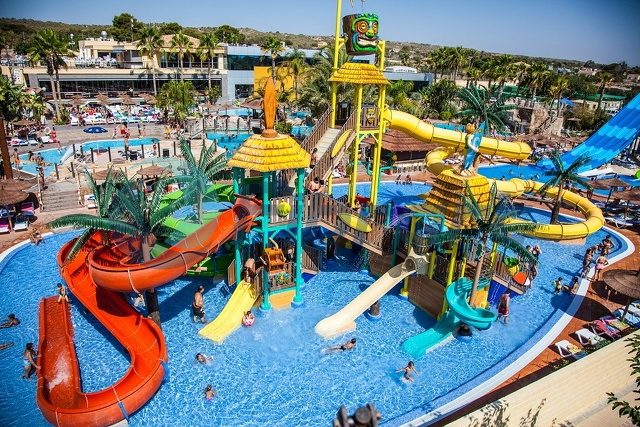 Albir Spain  city images : Aquamarina water park Alicante Spain, project developed by Fibrart