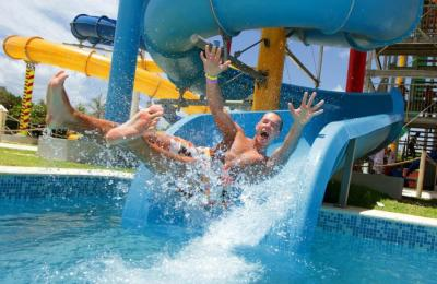 Water Slides for Theme Parks